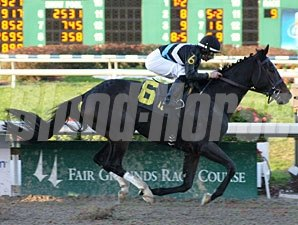 Good And Lucky wins the 2009 Tenacious Handicap.