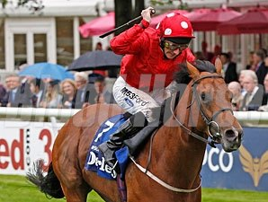 Mayson wins the 2012 Newmarket July Cup.