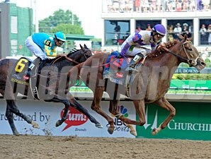 I'll Have Another racing in Kentucky Derby 138,