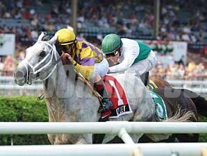 Wesley wins the National Museum of Racing Hall of Fame Stakes (gr. IIT) at Saratoga Race Course Aug. 4.