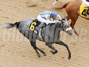 Another World wins the 2012 Redbud Stakes.