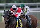Fort Larned Breezes at Churchill Downs