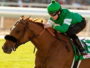 Caracortado Posts Bullet Work at Santa Anita