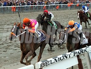 Ruler On Ice in the Belmont Stakes.