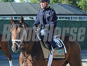 Commissioner at Belmont Park June 1.