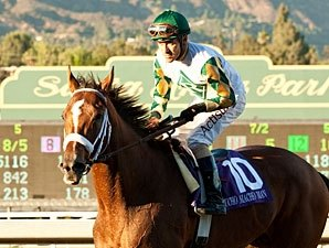 Solid Santa Anita Work for Mucho Macho Man