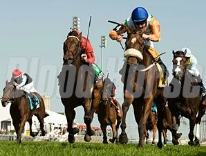 Barefoot Lady wins the 2012 Canadian Stakes.