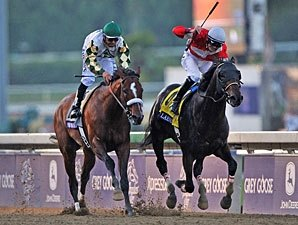 Fort Larned Wins Thrilling BC Classic