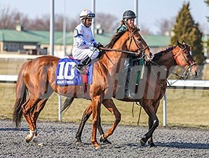 Giant Finish at Turfway Park.