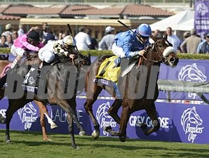 Flotilla wins the 2012 Juvenile Fillies Turf.