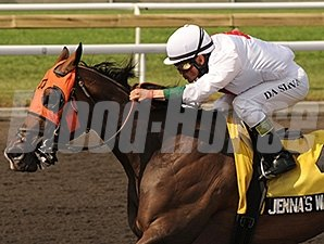Jenna's Wabbit wins the 2012 Achievement Stakes.