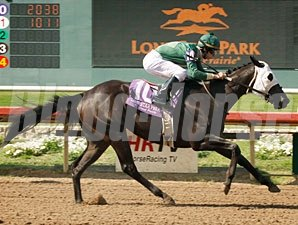 Camille's Appeal wins the Texas Stallion Stakes (Pan Zareta Division)