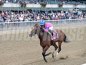 La Verdad wins the 2014 Iroquois Stakes.