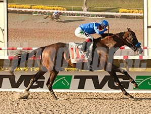 Game On Dude wins the 2013 Pacific Classic.