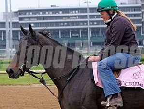 Amen Hallelujah at Churchill Downs on April 22, 2010.