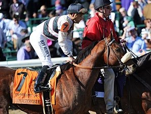 Amazombie Posts Bullet Move at Santa Anita