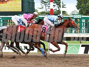 Sierra Ancha wins the 2013 Charles Hesse III Handicap.