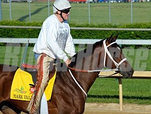 Mark Valeski - Churchill Downs, April 27, 2012.