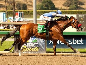 Goldencents Surprises in Santa Anita Derby