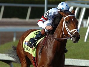 Big Brown Works for Kentucky Derby