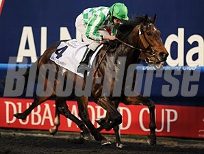 Lines of Battle wins the 2013 UAE Derby.