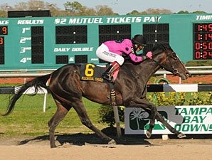 Diva Delite Wins 5th Straight in Florida Oaks