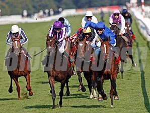 Encke wins the 2012 St. Leger.