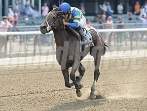 Emma's Encore wins the 2012 Victory Ride.