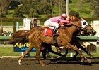 Blind Luck Wins Las Virgenes by a Whisker