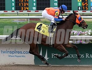 Raiseanothergator wins the 2012 South Mississippi Owner / Breeders Stakes.