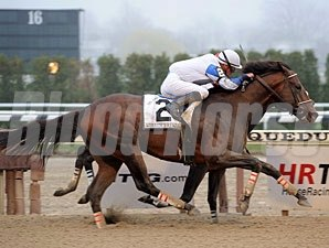 Warrior's Reward wins the 2010 Carter.