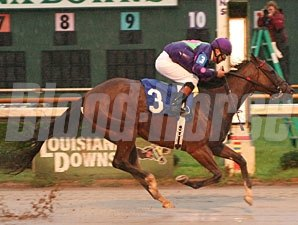 Master Link wins the 2009 LA Cup Filly & Mare Sprint.