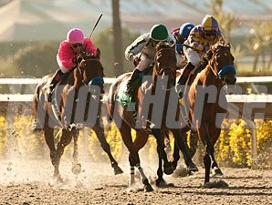 Ultra Blend wins the 2011 Clement Hirsch.