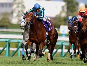 Ayusan Digs In to Win Japan's Oka Sho