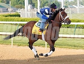 Optimizer gallops at Churchill Downs 4/22/2012