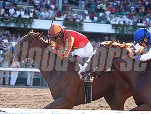 Coil beats Shackleford in the Haskell Invitational.