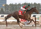Toby's Corner Overcomes Mud to Win Whirlaway