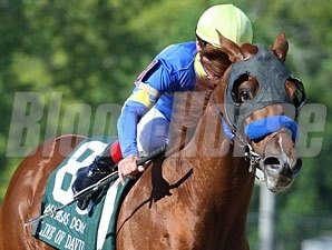 Line of David wins the 2010 Arkansas Derby.
