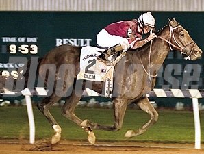 Zanjero wins the 2007 Indiana Derby.