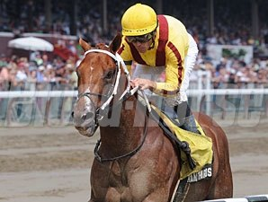 Kantharos wins the 2010 Saratoga Special.