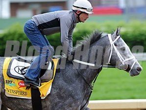Twinspired at Churchill Downs 5/4/2011.