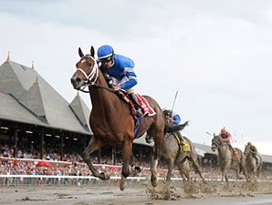 Alpha Dominant Winner in Jim Dandy Return