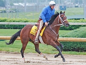 Mark Valeski Works Sharp 5 Furlongs for Derby