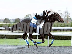 Golden Ticket Keeneland Work 10/20/2012
