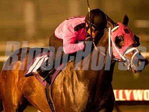 Comma to the Top wins the 2010 CashCall Futurity.