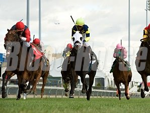 Lateegra wins the 2012 Carotene Stakes.