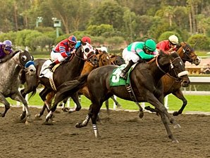 Neko Bay Rides Late Wave to San Pasqual Win