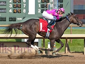 Salty Strike Goes Wire-to-Wire in Gardenia