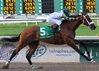 Mucho Macho Man Runs Big to Take Risen Star