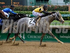 Macho Again wins the 2009 Stephen Foster